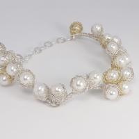 Baya Pearl Vine Bracelet