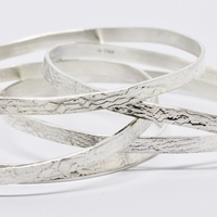 Lace Embossed Bangles