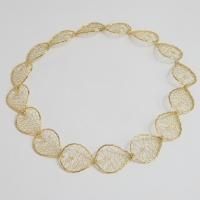 Torchon Continuous Lace Necklace