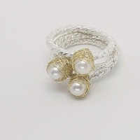 Baya Pearl Stacking Ring