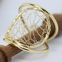 Torchon Lace Adjustable Ring